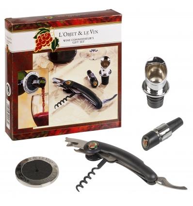 L'Objet & Le Vin Wine Connoisseur's Gift Set [LL2381AA]