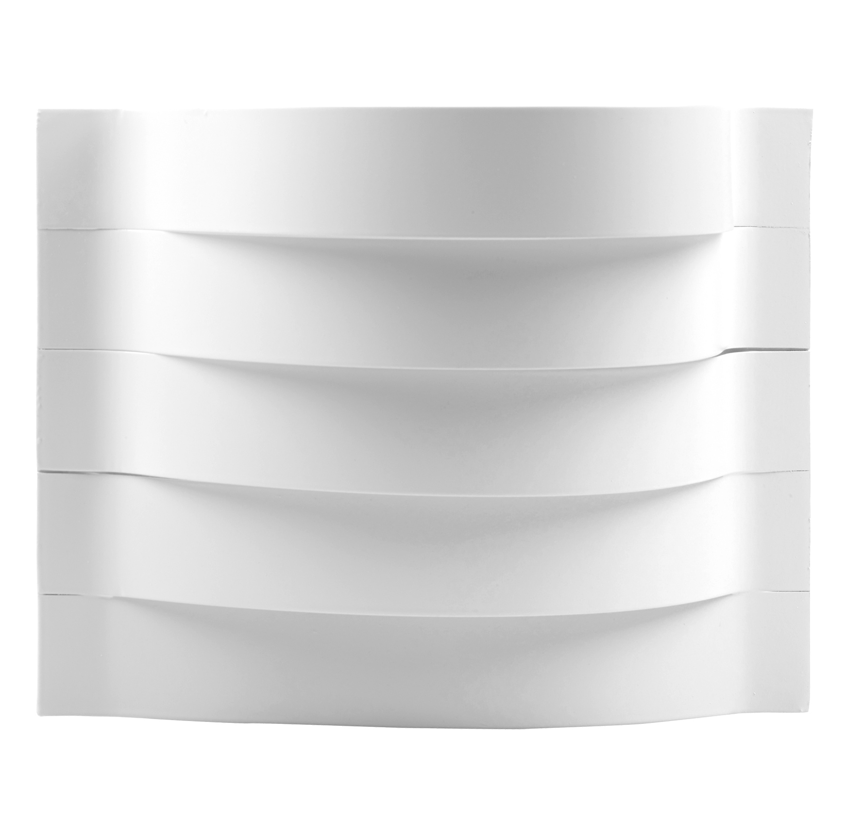 Wall Mounted Lamps Argos : White Contour Curved Wall Mounted Indoor Hallway Lamp LightingxArgos Uplighter eBay