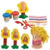 14pcs Play Dough Hairdressing Set [524092]