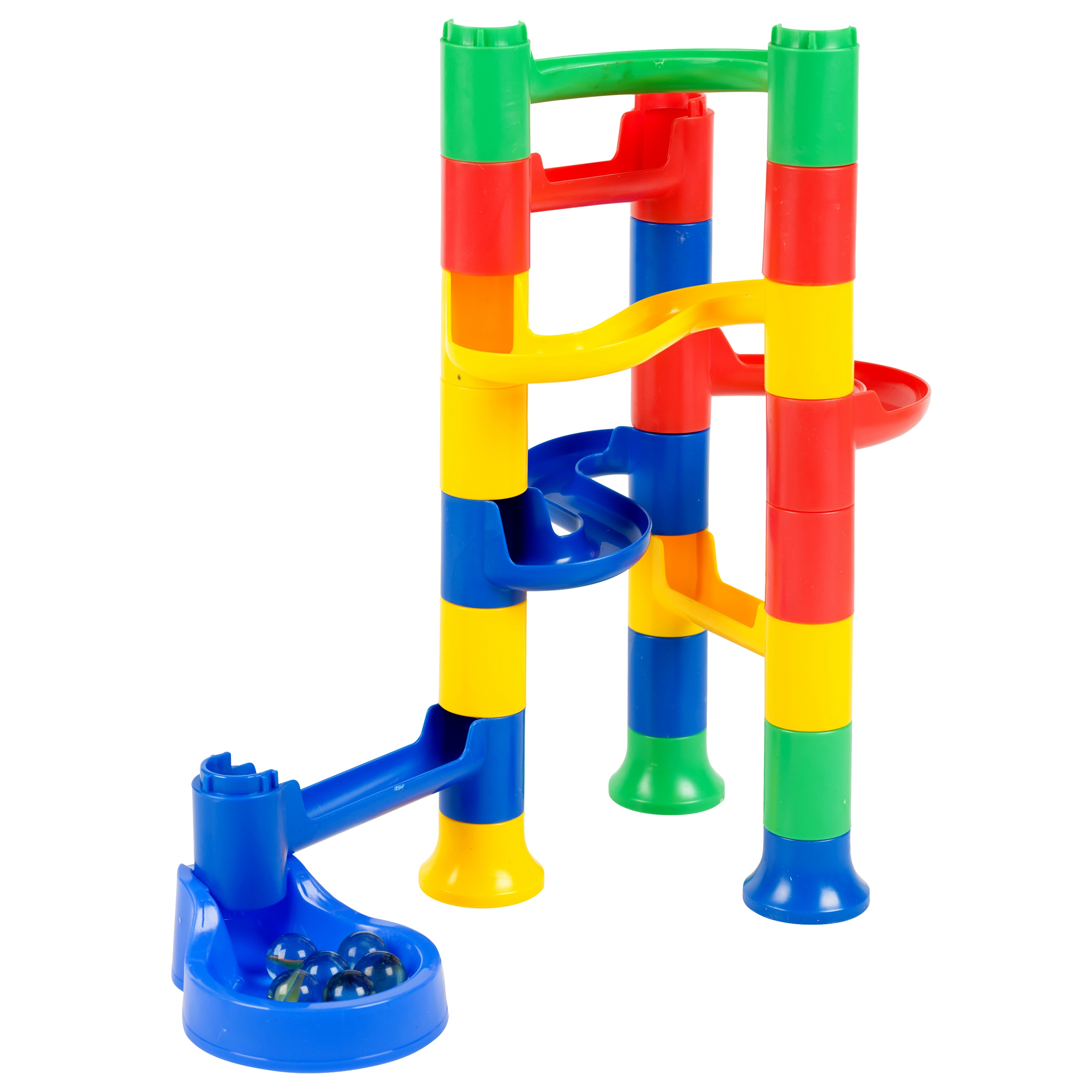 Kids Marble Run Race Construction Kit Childrens Toy Creative