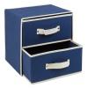2 Drawer Fabric Storage Box [538693]