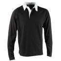 Rugbyshirt US Basic Brisbane - Black