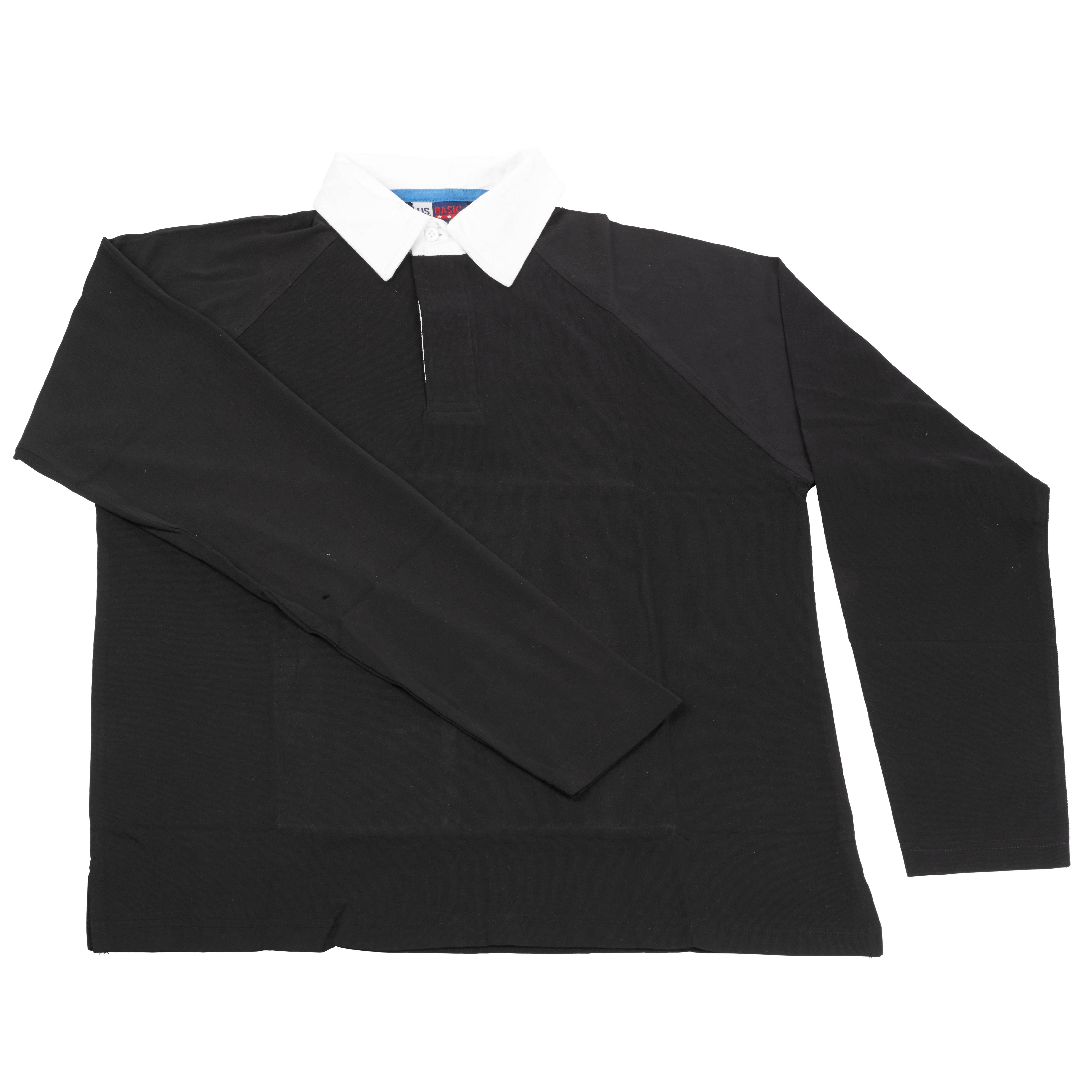 Black t shirt white collar -  9 99