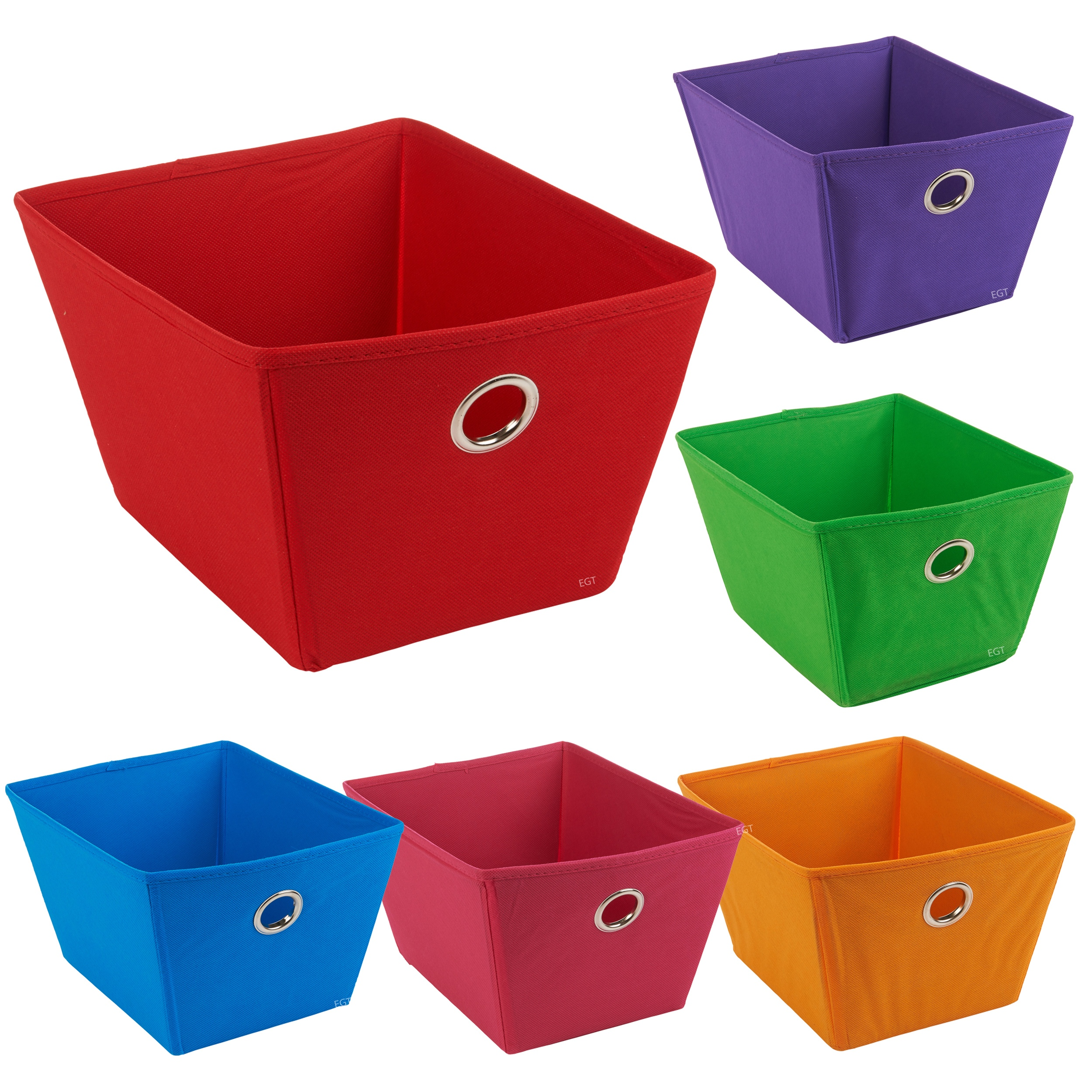 Non Woven Fabric Storage Boxes Containers Bits Bobs Box  sc 1 st  Listitdallas & Fabric Storage Box - Listitdallas
