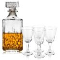 Liqueur Glasses & Decanter Set [153230]+[185526]