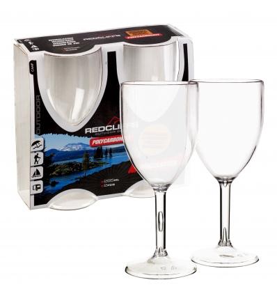 2pc Wineglasses Set Polycarbonate [539977]