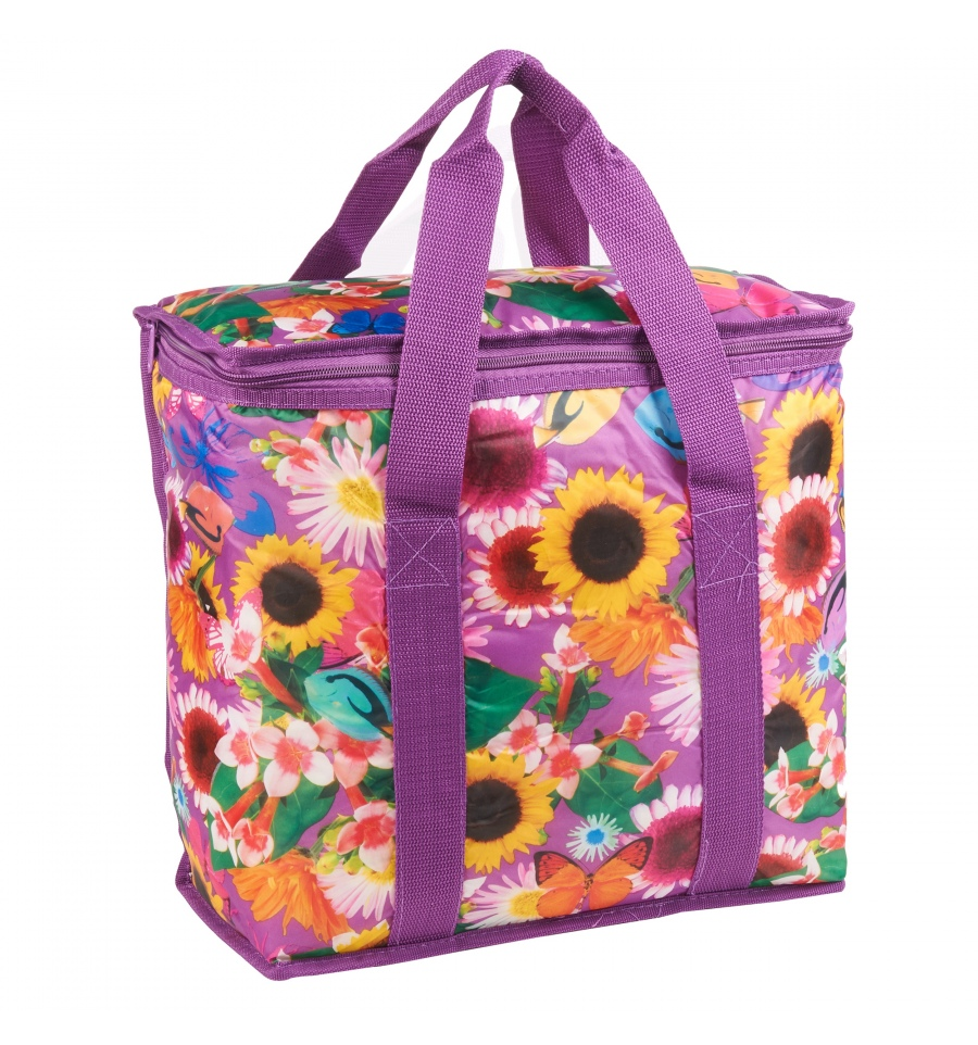 Flower Design 16l Cooler Bag 599742
