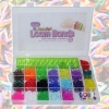Estelle Colourful Loom Bands & Machine w/case [955387]
