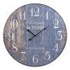Wall Clock 60cm Number Design [040336]