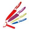 Knife set 4pc & peeler TPR [001051]