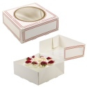 Classic Cake Presentation Boxes With Window [B/5001704]