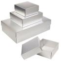 Self Build Silver Gift Box & Lid [B/63009]