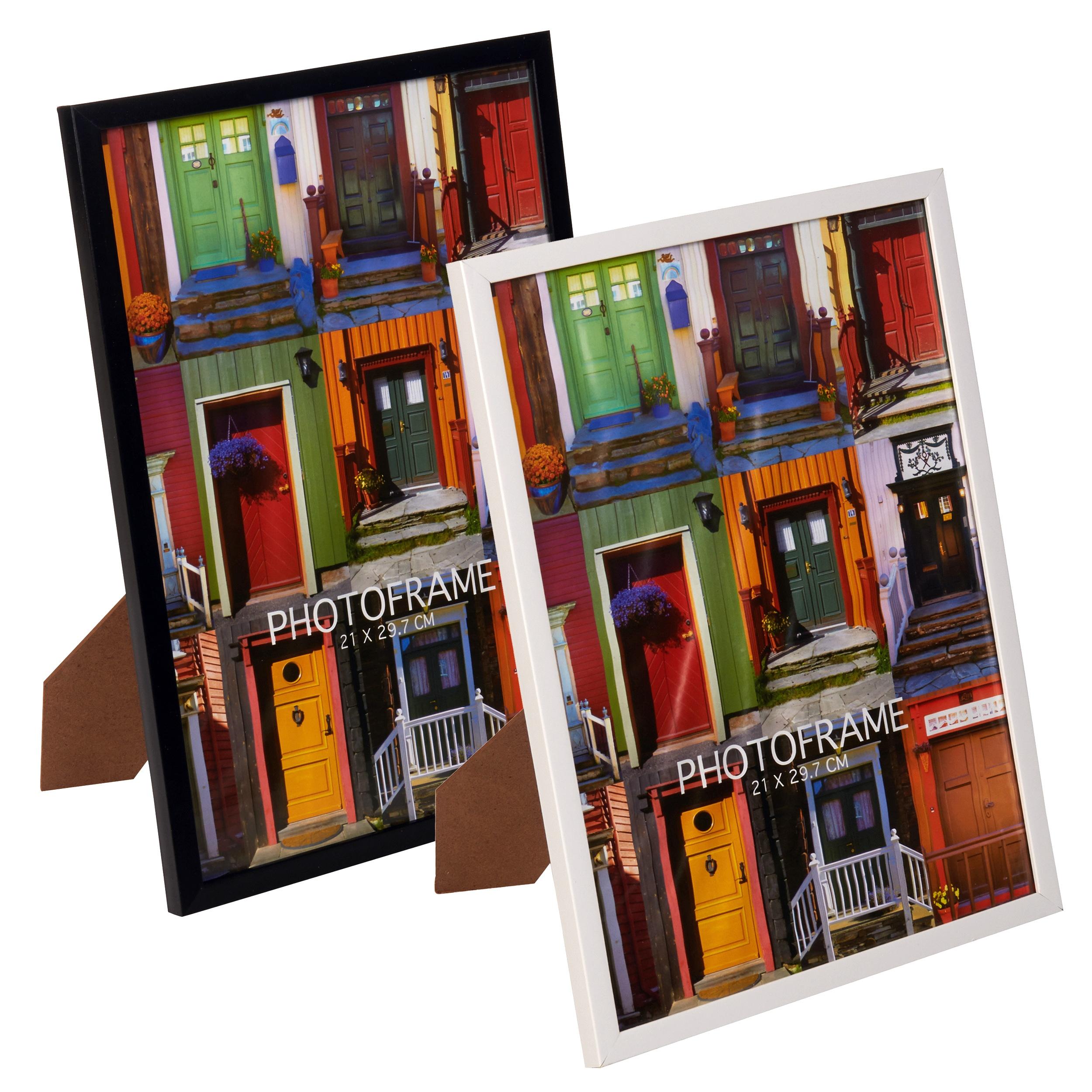 cadre photo a4 aspect bois ebay. Black Bedroom Furniture Sets. Home Design Ideas