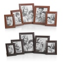 Free Standing Wood Look Picture Photo Frames