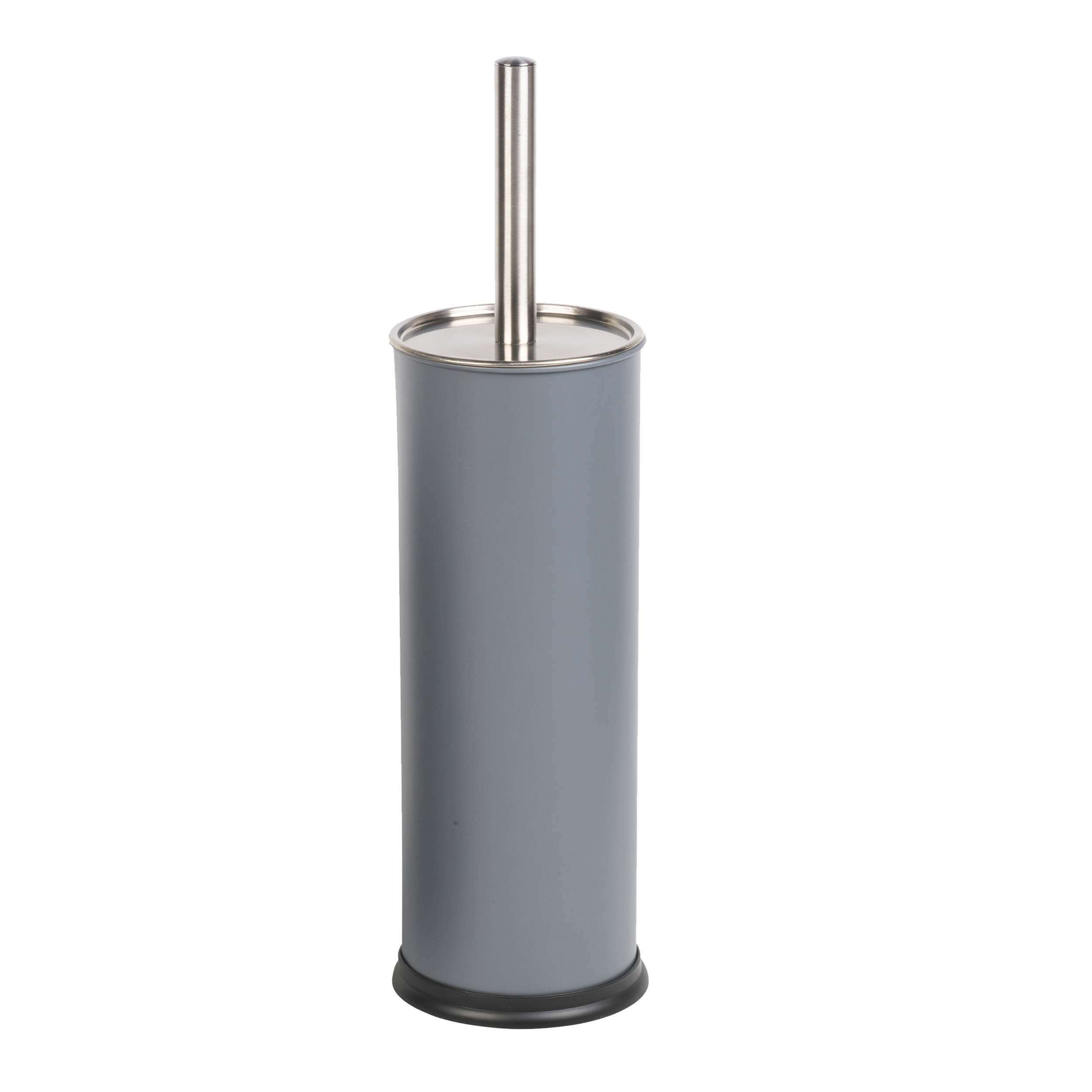 bathroom toilet brush holder accessory loo stainless steel handle cover cleaner. Black Bedroom Furniture Sets. Home Design Ideas