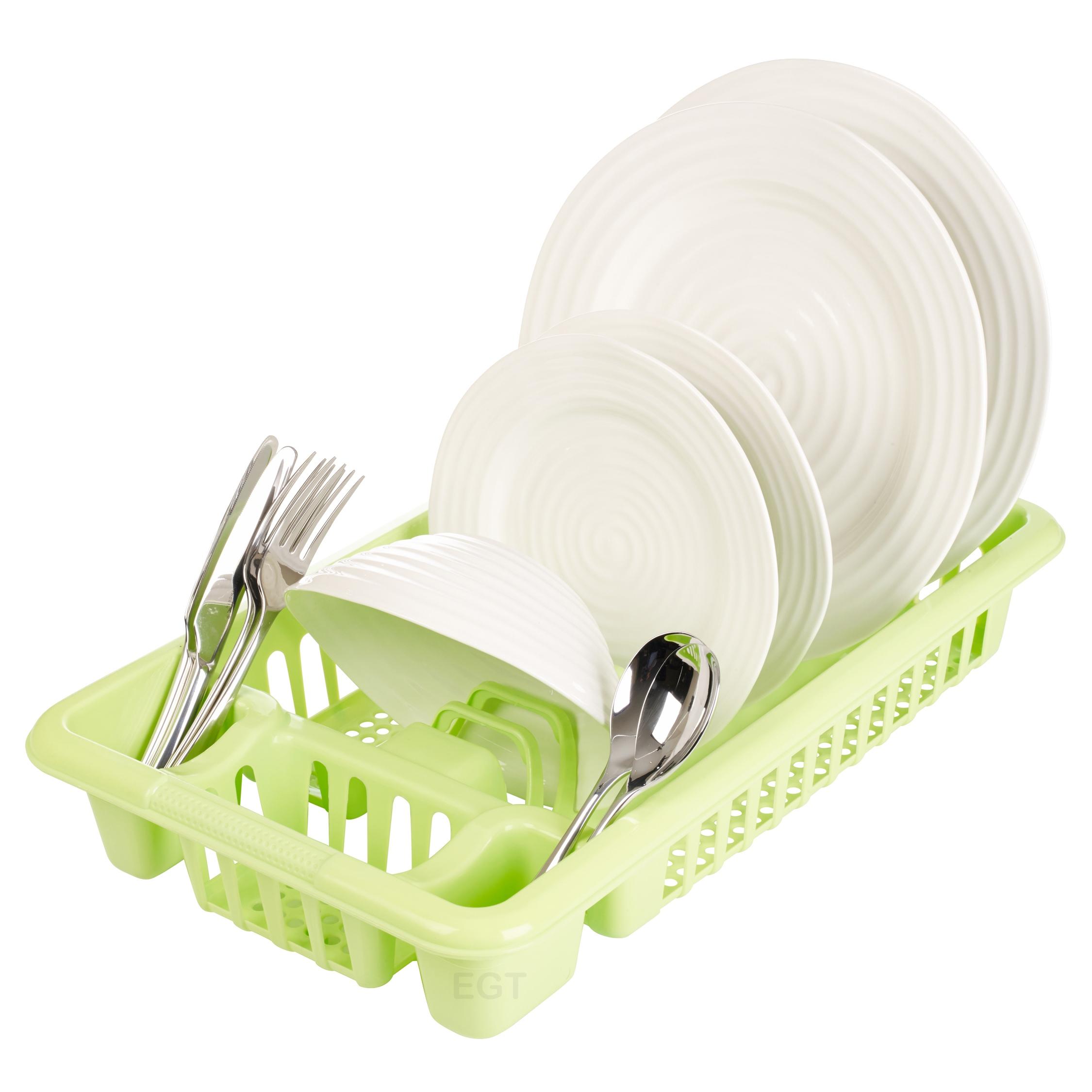 Plastic Dish Plate Utensil Rack Kitchen Sink Drainer Washing Up - Kitchen sink drainer