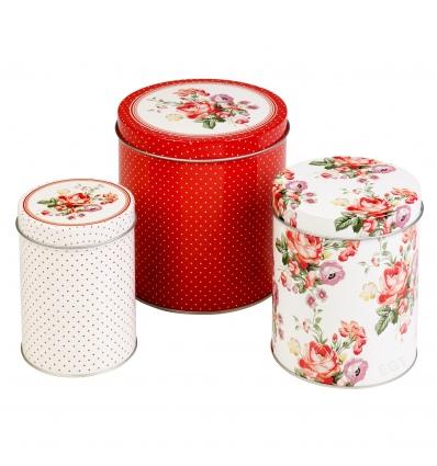 Set of 3 Storage Tins [065208]