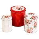 Set of 3 Katie Alice Storage Tins [065208]