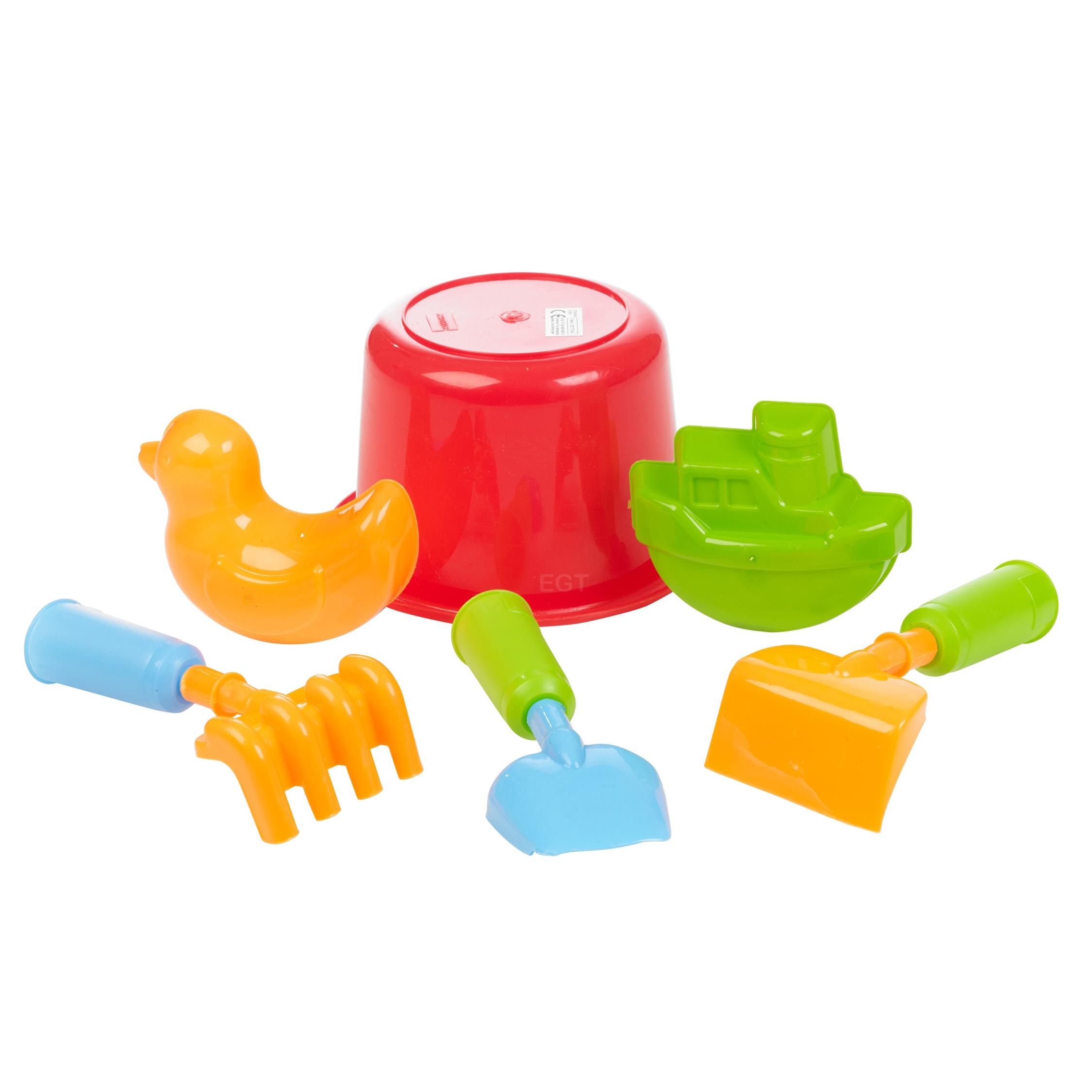 Beach Sand Toys For Kids : Sand castle bucket spade kids beach seaside play water