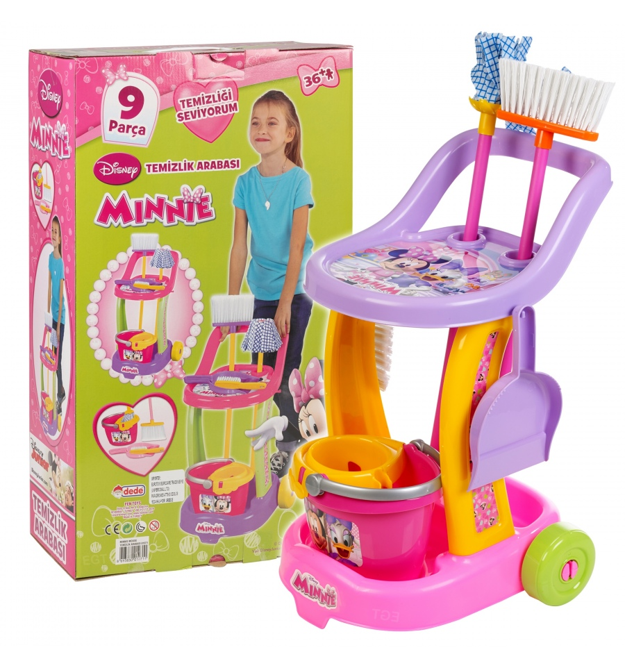 Disney Minnie Cleaning Trolley 01971