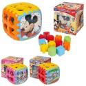 Disney 18pcs Puzzle Shape Sorter Cube