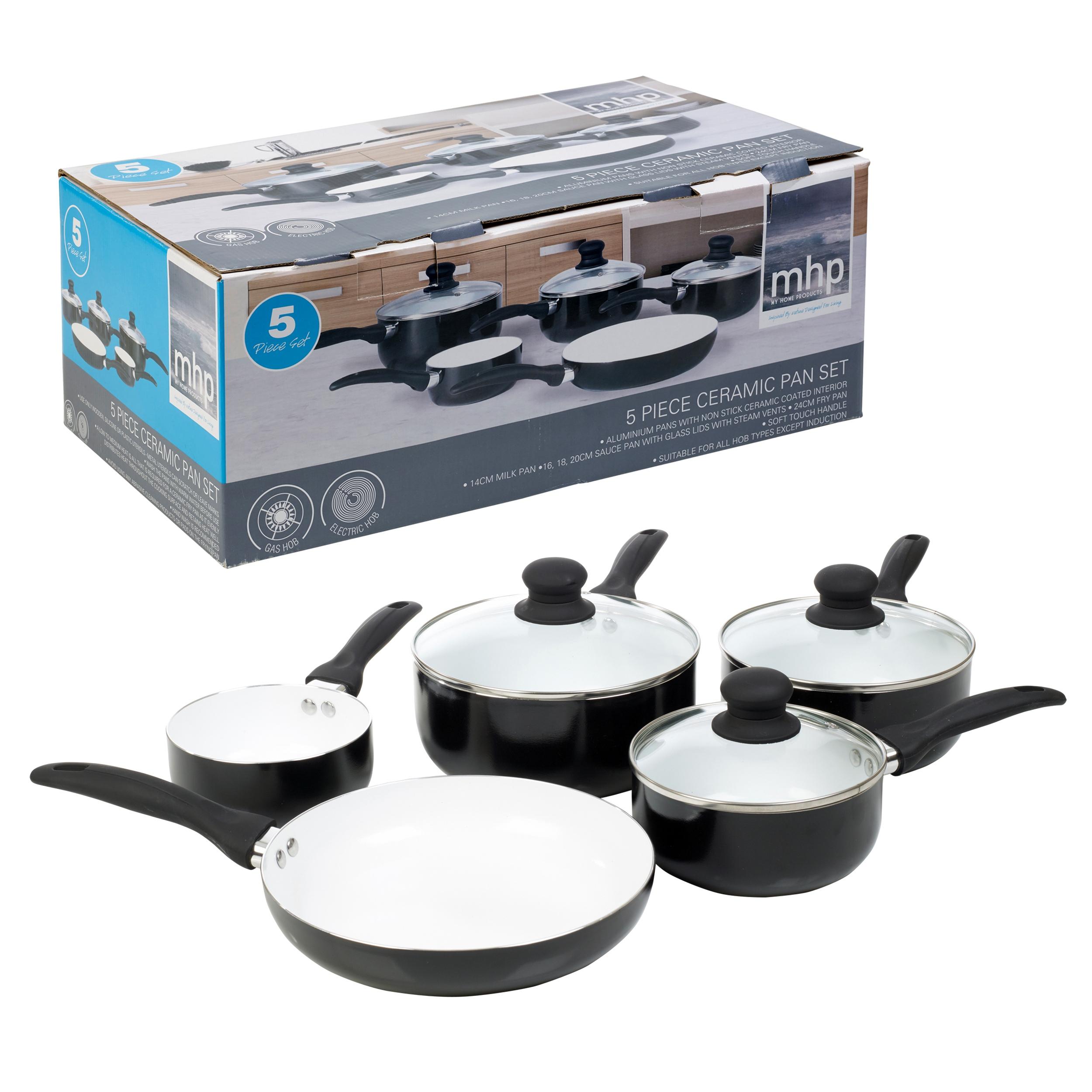 Utensilios cocina ollas sartenes antiadherentes cer mica 5 for Utensilios de cocina de ceramica