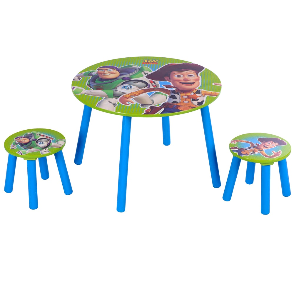 Toy Story Stool : Kids disney toy story wooden wood table stools
