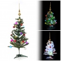 Faux Christmas Tree & Decoration Bundle