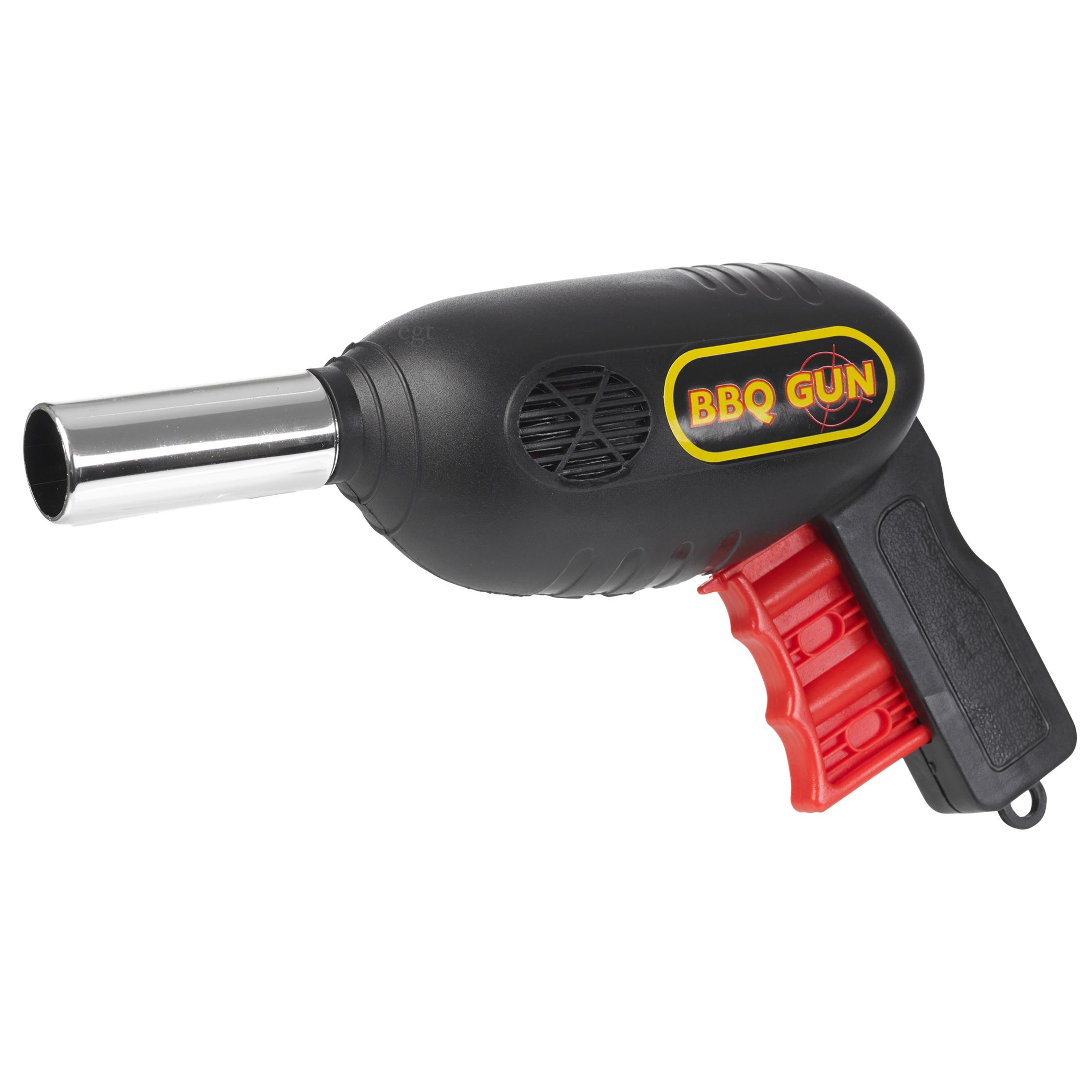 Porch Light Handguns: BBQ Grill Fan Gun Bellows Barbecue Fire Air Blower Outdoor