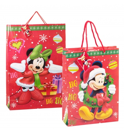 4 x Disney Xmas Gift Bags 527325 / 527356
