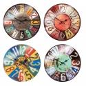 Shabby Chic 38cm Glass Wall Clock [306852]