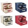 3 Drawer Fabric Storage Box [538709]