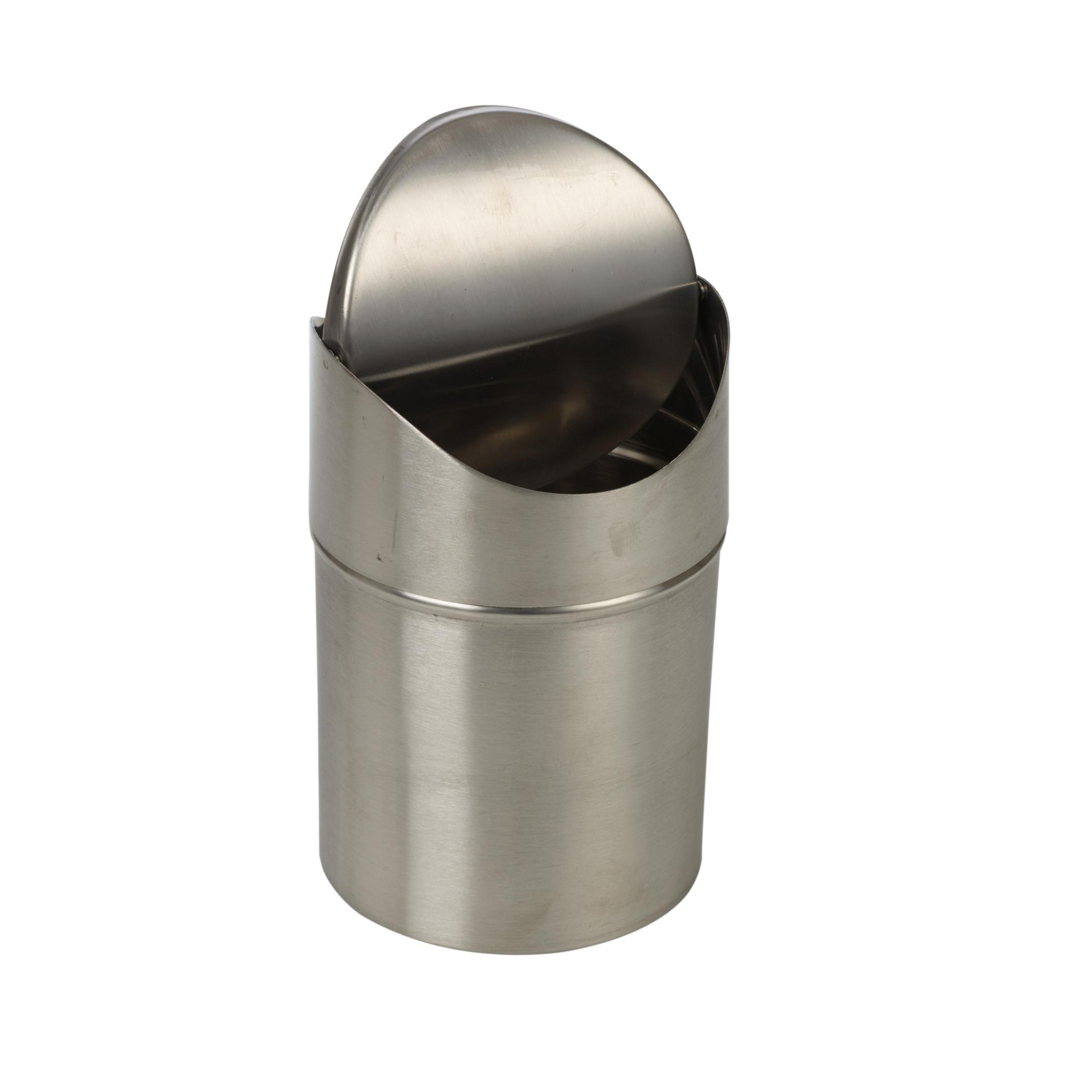 stainless steel 1 5l l klein abfalltonne schwingdeckel k chenarbeitsplatte ebay. Black Bedroom Furniture Sets. Home Design Ideas