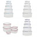 10pc Clip Seal Food Storage Boxes [536118]