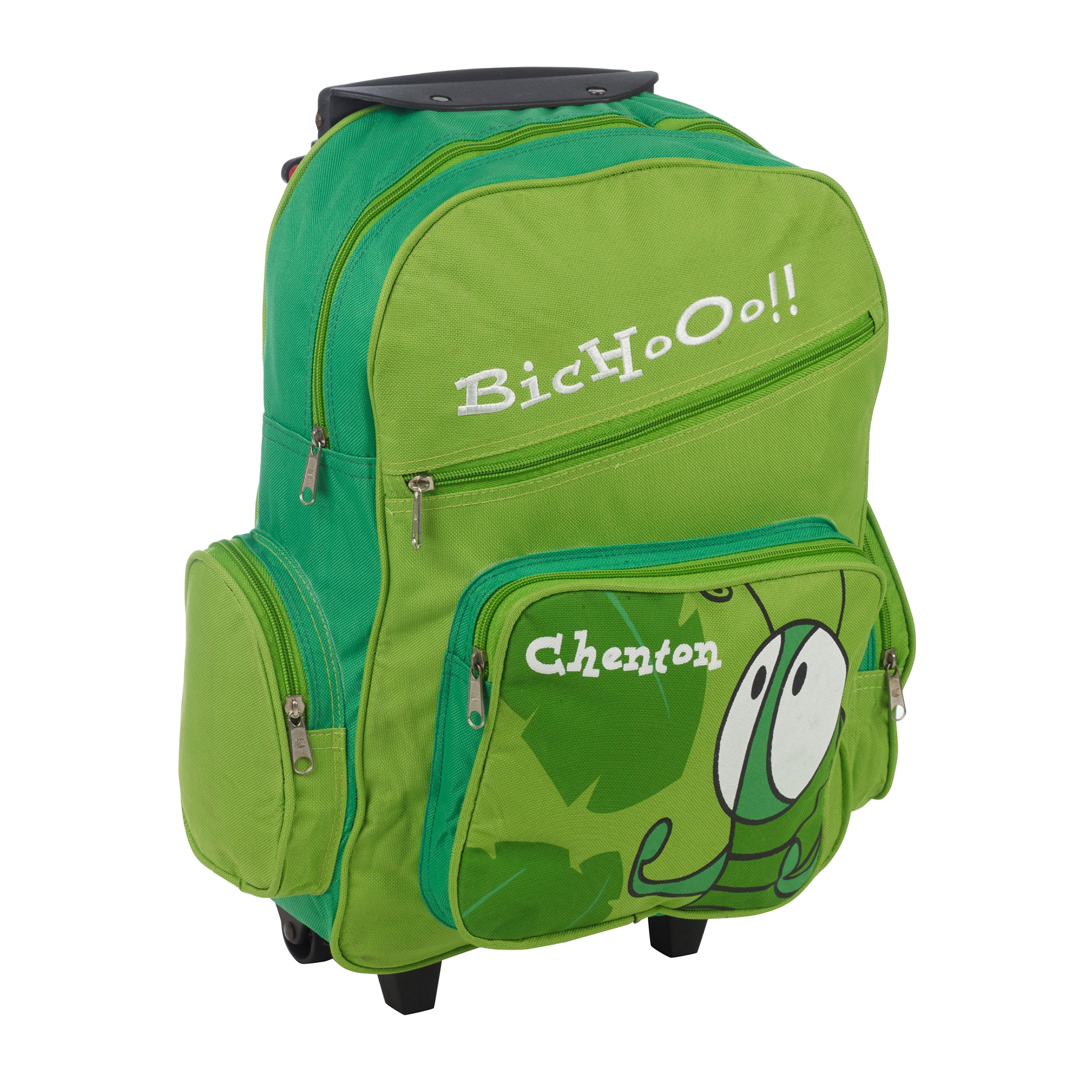 Wheelie Roller Backpack Rucksack School Holiday Travel ...