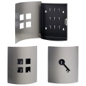 Brushed Stainless Steel Key Box [539874]