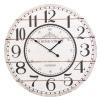 Shabby Chic Large Wall Clock 60cm [300577]