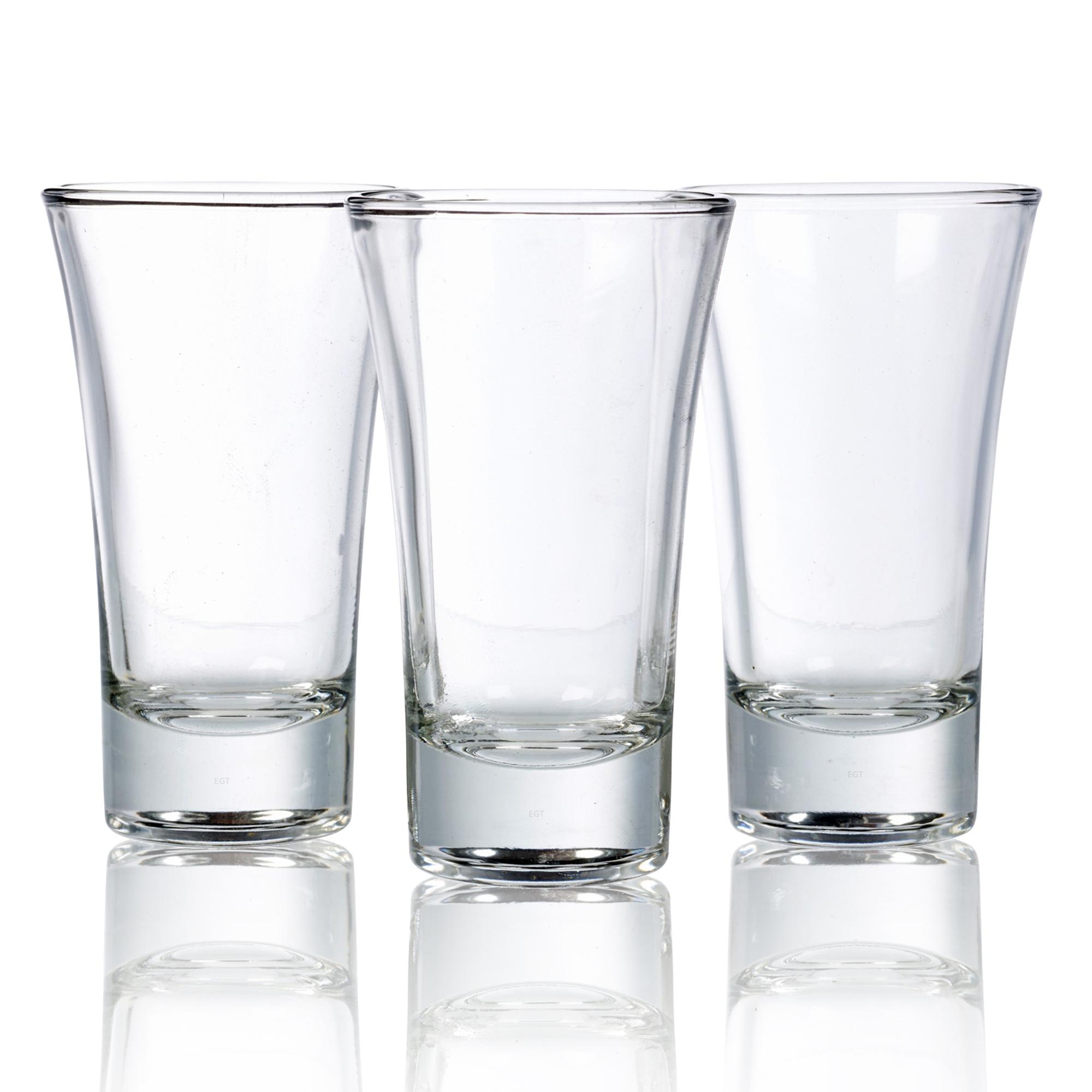 Double Shot Glass Dimensions