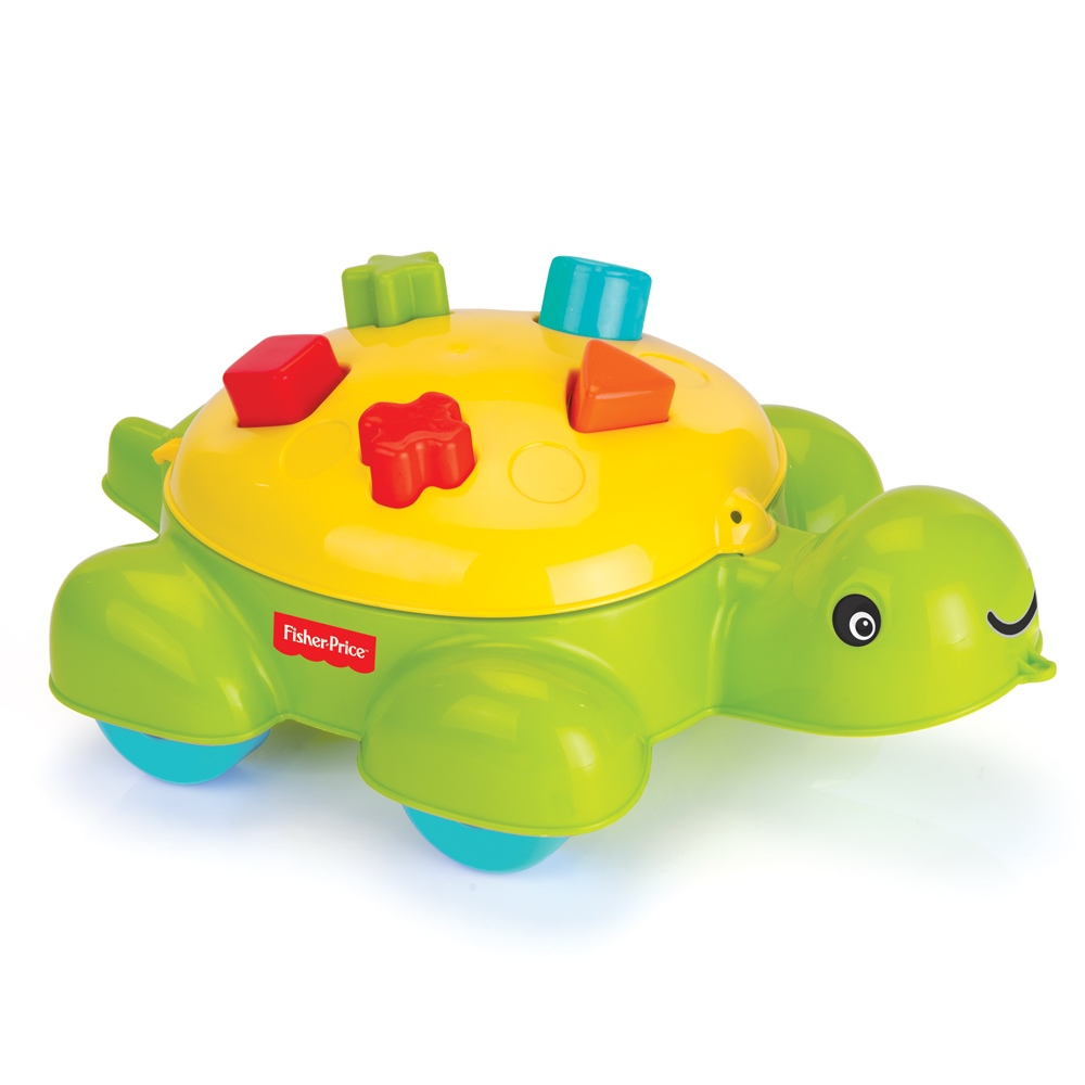 Fisher Price Baby Toys : Fisher price turtle shape sorter toddler baby activity toy