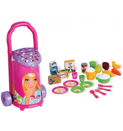 Barbie Shopping Trolley 25pc [015089]