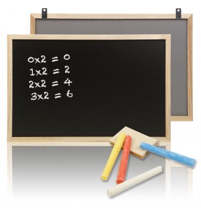 Wooden Frame Memo Chalkboard [017307]