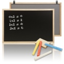 Wooden Frame Memo Chalkboard Blackboard [017307]