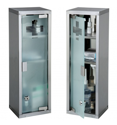 Medicine Cabinet Stainless Steel 539867