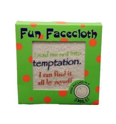 fantastic fun face flannel
