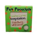 Fantastic Fun Face Flannel - Temptation