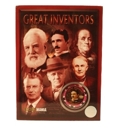 great inventors limited edition poker chips