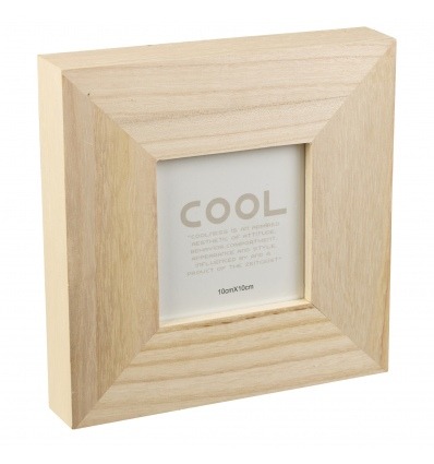 Natural Wood Chunky Photo Frame 956040