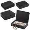 Damask Black Floral Gift Box