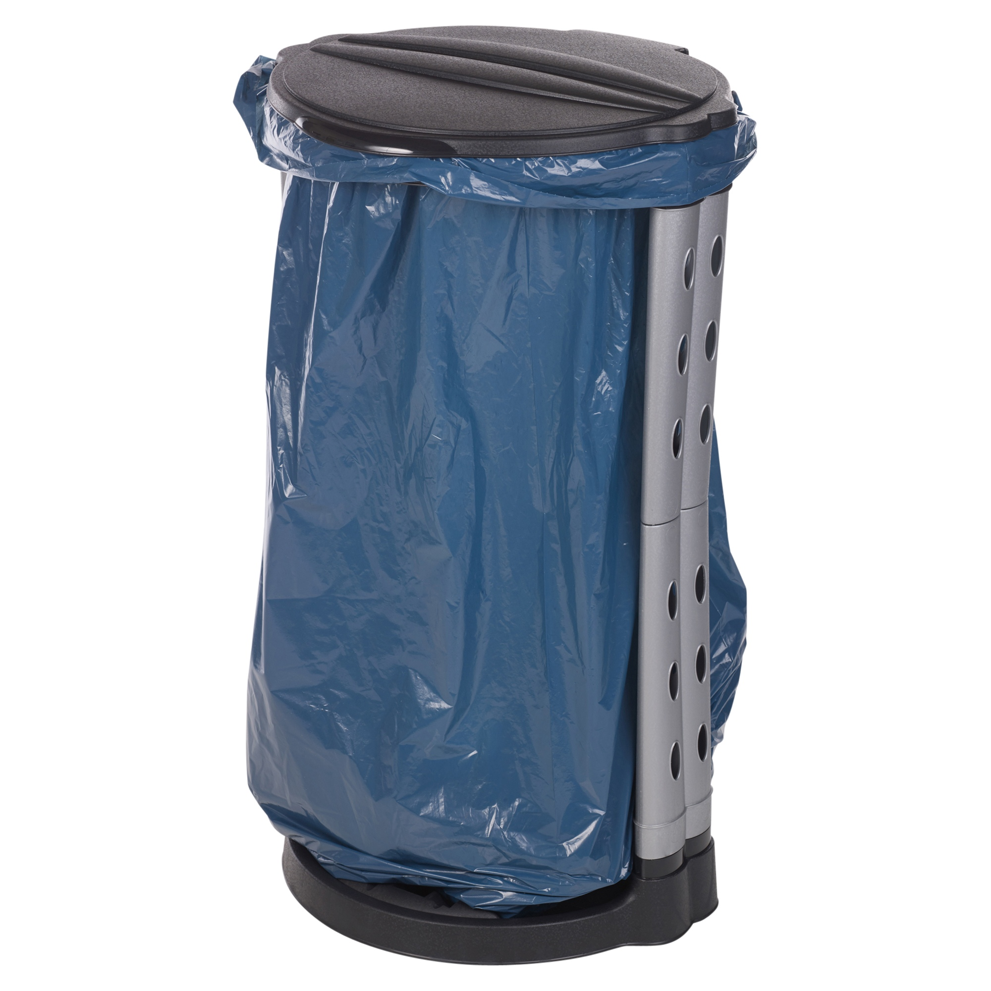 120l collapsible plastic recycle garbage waste rubbish bin bag sack stand holder ebay - Collapsible trash bins ...