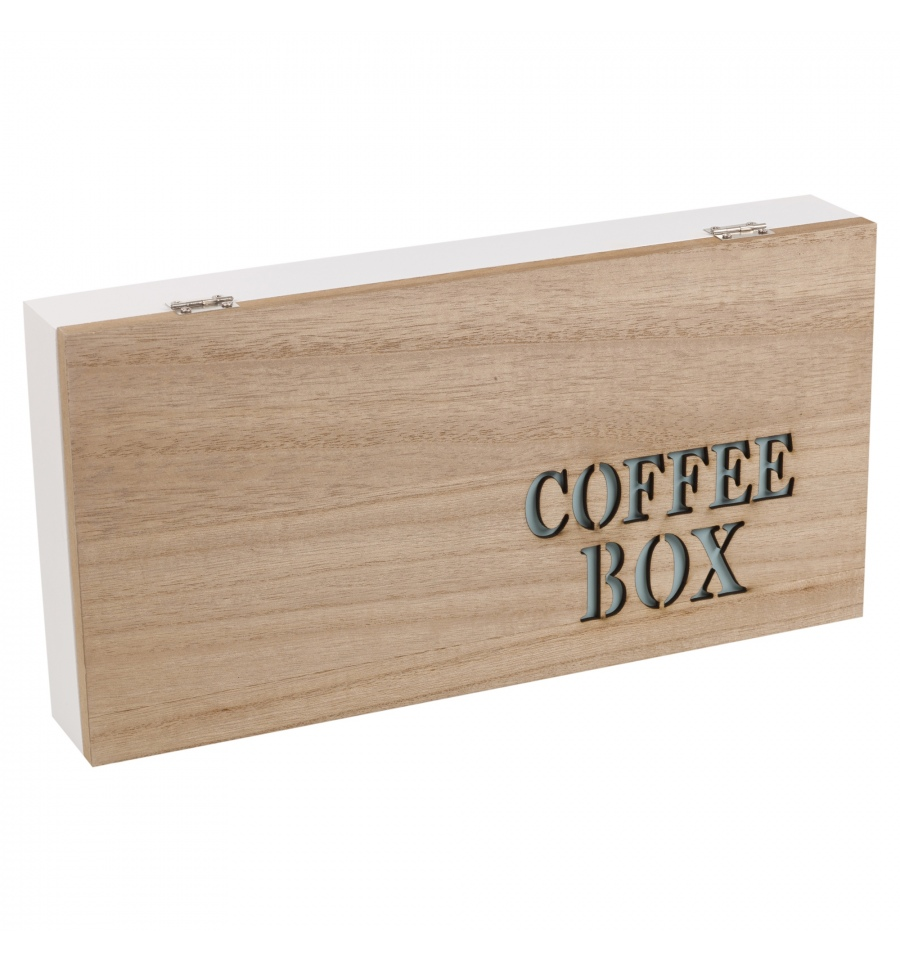 4 Section Wooden Coffee Box 996509